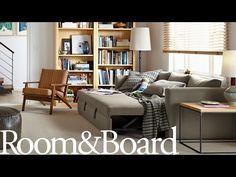 Oxford Pop-Up Platform Sleeper Sofa - Modern Sleeper Sofas - Modern Living Room Furniture - Room & Board