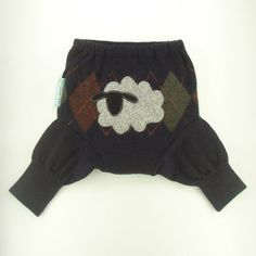 recycled wool diaper cover