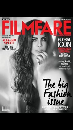 Priyanka Chopra slays the October cover of Filmfare | PINKVILLA