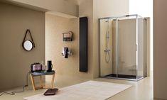 Box doccia Mercurio - ARBLU Shower Cabin, Tempered Glass Door, Cabin Design, Bathroom Medicine Cabinet, Mirror, Furniture, Home Decor, Mercury, Decoration Home
