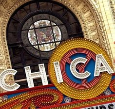 Chicago Theater on State street. #Chicago