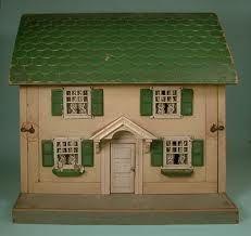 Schoenhut Dollhouse circa 1920's.  I bought this house 25 years ago