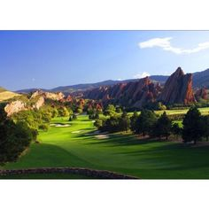 Arrowhead Golf Course, Littleton, Colorado- one of the most scenic courses I have played!