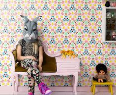 wallpaper, kids wallpaper, mr perswall, isabelle McAllister, tapeter, sudd, erasers,