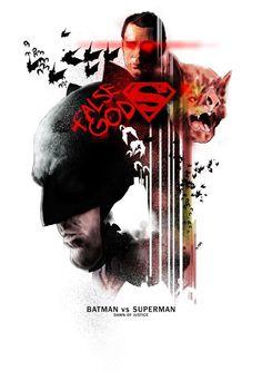 Batman v Superman: Dawn of Justice by Glen Stone