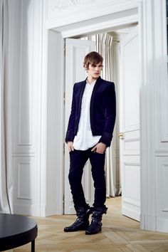 //balmain f/w 2012 | style.com