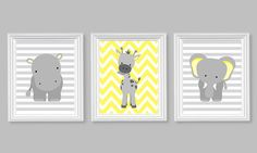 Nursery Decor, Eleph