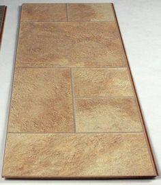Tarkett occasion laminate rochester hickory at menards for Laminate flooring mn