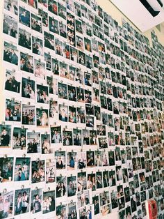 photo // memories // grunge // polaroids // have a Polaroid wall