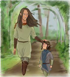 Маглор и Элронд