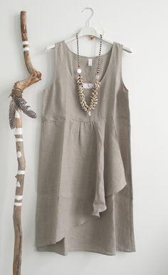 BYPIAS Linen Dress DREAM / @bypiaslifestyle www.bypias.com