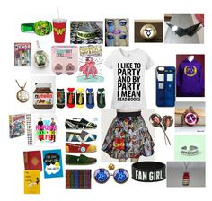 Ultimate fangirl set by insanitytothemax on Polyvore featuring polyvore, fashion, style and Marvel Comics