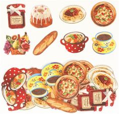 cute-food-sticker-sack-from-Japan-171031-2.jpg (500×483)