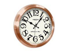 Klasik Altın Metal Duvar Saati  Ürün Bilgisi;  Aliminyum Çerçeve Çap 480 mm. Mineral Cam Sessiz Akar Saniye