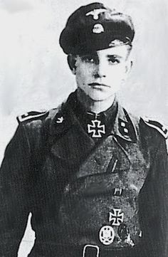SS-Oberscharführer DERK-ELSKO BRUINS (*20.03.1923, +05.02.1986), Knight's Cross holder from the Netherlands. Imprisoned at the end of the war in a Dutch jail by Canadian forces. He broke out and escaped to Germany where he spent the rest of his life