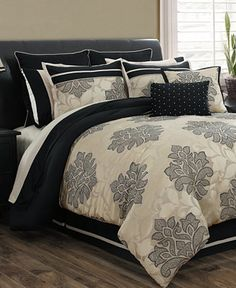 Lafayette 24 Piece Comforter Sets - Bed in a Bag - Bed & Bath - Macy's