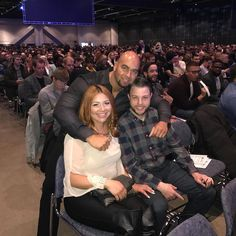 I bumped into these two at the Tony Robbins Power of Success Seminar in Montreal. What an awesome Seminar!  Take the time to appreciate the significance and enjoyment of crossing paths with good people who share your interests.  Happy Birthday Blankita @blankita_styles  #ElieFitnessTrainer       #tonyrobbinsquotes #motivationalquotes #motivation #lifestyle #grow #confidence #goals #psychology #selfdevelopment #evolve #giveaway #selfimprovement #personalpower  #cnn #inspirational…