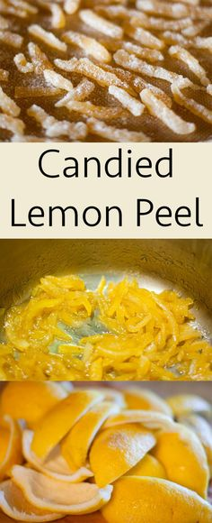 Make your own Candied Lemon Peel to nibble on or to give as homemade gifts! This was my favorite candy that my mom made for Christmas when I was growing up!