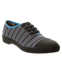 PRADA Canvas Lace-Up Derby Shoe'. #prada #shoes #oxfords