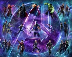 'Avengers: Infinity War' Covers Connected Into One Gigantic 23 Character Poster Marvel Avengers, Marvel Comics, Marvel Heroes, Doctor Strange, Marvel Universe, Infinito Marvel, Loki, Thor, Captain America