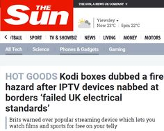 Kodi Boxes Are a Fire Risk: Awful Timing or Opportunism?  Anyone who saw the pictures this week couldnt have failed to be moved by the plight of Londoners caught up in the Grenfell Tower inferno. The apocalyptic images are likely to stay with people for years to come and the scars for those involved may never heal.  As the building continued to smolder and the death toll increased UK tabloids provided wall-to-wall coverage of the disaster. On Thursday however The Sun took a short break to…