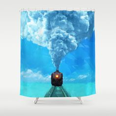 Spirited away Shower Curtain by Vadim Cherniy - $68.00