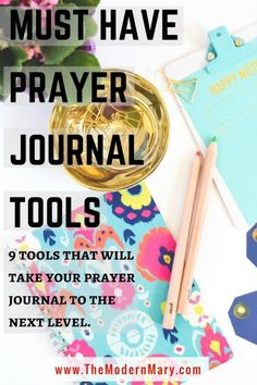 Ever wonder what it takes to start a prayer journal? Check out this post for all the details about the best prayer journal tools.