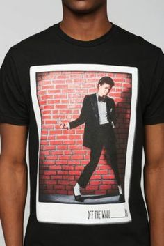 Michael Jackson Off The Wall Tee - need. this. shirt. in. my. life. ~ L