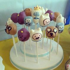 Cake pops #AdventureTime