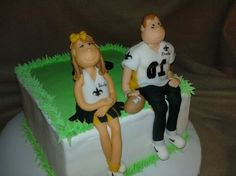 Thanks to Melissa Daniel for sending us a picture of this cake! #Saints #NOLA #cake