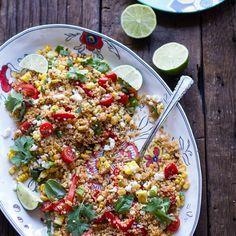 Grilled Corn Salad x