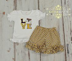 LSU Game day Outfit - LSU Tigers football outfit - LSU - Geux Tigers -