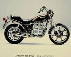 '83 Kawasaki Z440 LTD