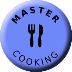 Master, Cooking, Badge, TV, Social TV, Auszeichnung Social Tv, Badges, Football, Cooking, Soccer, Kitchen, Futbol, Badge, American Football