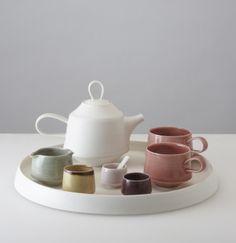 Tea set by Louisa Taylor.