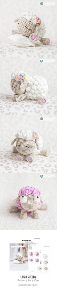 Mesmerizing Crochet an Amigurumi Rabbit Ideas. Lovely Crochet an Amigurumi Rabbit Ideas. Crochet Sheep, Crochet Amigurumi, Cute Crochet, Amigurumi Patterns, Crochet Animals, Crochet Crafts, Crochet Dolls, Yarn Crafts, Crochet Stitches