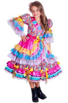 vestidos de festa junina infantil - Pesquisa Google                                                                                                                                                      Mais