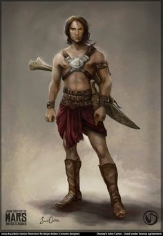 Concept Art From Jonay Bacallado in the film John Carter on Mars