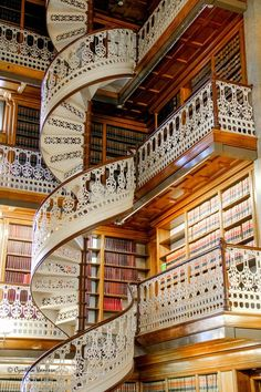 Staircase, Law Library, Des Moines, Iowa