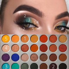 Morphe XJaclyn Hill Jaclyn Hill Palette Looks Hill Morp Black Eyeshadow hill jaclyn Morp Morphe palette XJaclyn Makeup Eye Looks, Eye Makeup Steps, Smokey Eye Makeup, Skin Makeup, Dead Makeup, Sleek Makeup, Eyebrow Makeup, Simple Makeup, Jaclyn Hill Palette