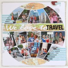 scrapbook page by AnyaL