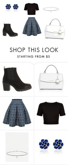 """""""Untitled #1"""" by meganr388 ❤ liked on Polyvore featuring Vagabond, Michael Kors, Rumour London, Ted Baker, ASOS and Ciroki"""