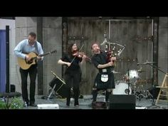 Scottish Fiddle & Bagpipe: Rebecca Lomnicky & David Brewer