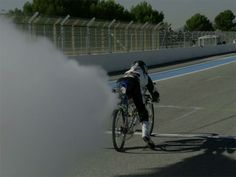 It Takes a Special Kind of Crazy to Pilot a Rocket-Powered Bicycle to 207 MPH in Less Than Five Seconds
