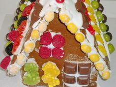 Casinha de Gengibre de Natal (Gingerbread House)