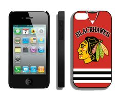 NHL iPhone Case  Chicago Blackhawks iphone 4 4s case http://www.iphonecases100.com/