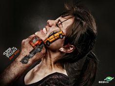 campañas sobre conducción responsable. Campañas para que uses el cerebro.