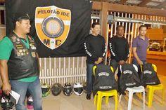 R2 MOTOS: Motoclube Pelotão IDE promove entrega de coletes p...