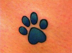 Nicole, what do u think about a small paw print as a matching tattoo? Baby Tattoos, Small Tattoos, Tatoos, Paw Print Art, Paw Prints, Pretty Tattoos, Cat Tattoo, Future Tattoos, Tattoo Inspiration