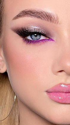 Smoky Eye Makeup, Eye Makeup Art, Dark Makeup, No Eyeliner Makeup, Glam Makeup, Skin Makeup, Beauty Makeup, Girls Makeup, Love My Makeup